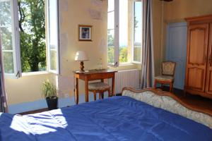 Chambres d'hotes/B&B Les Indrins : Chambre Double
