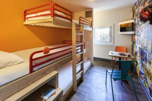 hotelF1 Marne la Vallee Collegien : Chambre Break (3 Adultes)