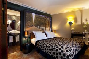 Hotel Fontaines du Luxembourg : Chambre Simple