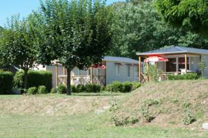 Hebergement camping bonneval : Mobile Home (Beige)