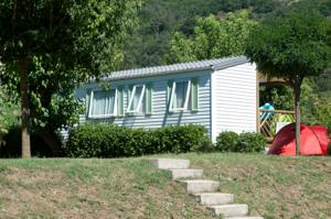 Hebergement camping bonneval : Mobile Home (Orange)