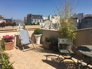 Appartement Eagles Nest - Studio w 15M terrace - Hyper Centre : photos des chambres