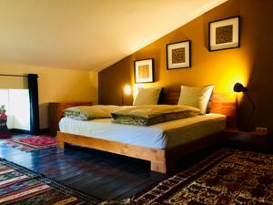 Chambres d'hotes/B&B Moulin A : Suite 2 Chambres