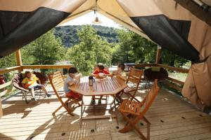 Hebergement camping aloha plage : Chalet 2 Chambres