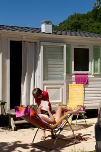 Hebergement Camping Le Monloo : Mobile Home (6 Adultes)