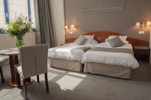 Best Western Hotel Hermitage : Chambre Lits Jumeaux Confort