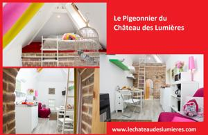 Hebergement Holiday home du Chateau des Lumieres : photos des chambres