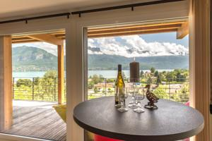 Appartement Le Panoramic - 180° lake View : photos des chambres