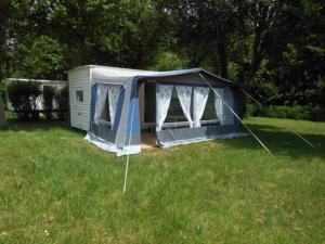 Hebergement Camping les Mancellieres : Bungalow 2 Chambres