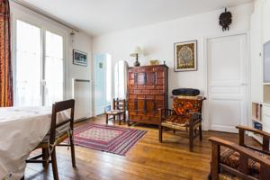 Appartement Cool flat for 3 near Buttes-Chaumont : Appartement