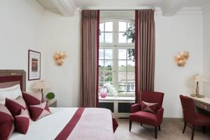 Hotel Chateau Lafaurie-Peyraguey by LALIQUE : Chambre Double Deluxe