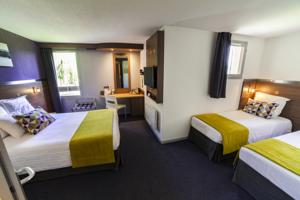 Comfort Hotel Garden Lille Tourcoing : Chambre Familiale