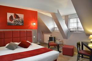 Logis Hotel Au Site Normand : Suite Junior