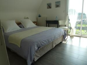 Chambres d'hotes/B&B Chambre d'hotes Ty River View : Chambre Double - Vue sur Mer