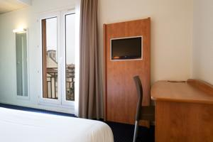 Hotel Mister Bed City Centre-Ville Bourgoin-Jallieu : Chambre Double