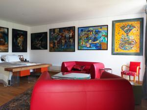 Chambres d'hotes/B&B Besharat Gallery & Museum : Suite Supérieure