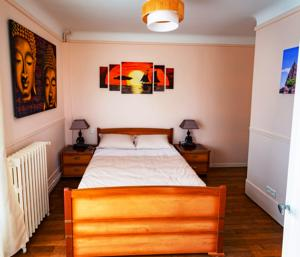 Chambres d'hotes/B&B Apakabar Homestay : Chambre Double