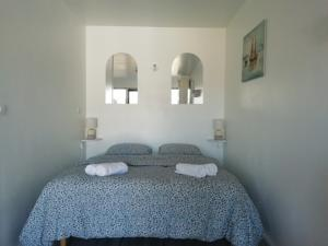 Appartement Chic apart with terrace in Vernon-Giverny : photos des chambres