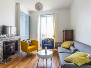 Appartement Welkeys - Jules Grandclement Apartment : photos des chambres