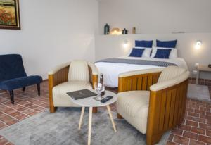 Chambres d'hotes/B&B Le Colombier : Chambre Double Grand Confort