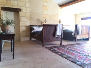 Chambres d'hotes/B&B Chateau Champcenetz : Grande Chambre Double