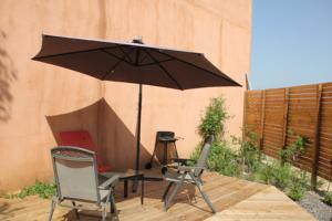 Chambres d'hotes/B&B O'Vineyards B&B Carcassonne : Studio avec Terrasse