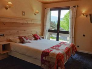 Hotel Logis Le Vernay : Chambre Double