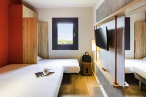 Hotel ibis budget Geneve Saint Genis Pouilly : photos des chambres