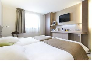 Kyriad Hotel Nevers Centre : Chambre Lits Jumeaux