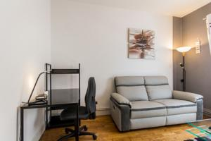 Appartement SweetHome Dijon - Milsand : photos des chambres