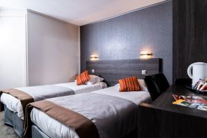 Comfort Hotel Orly Morangis : Chambre Lits Jumeaux