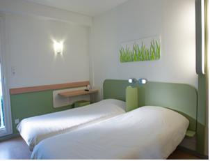 Hotel ibis Budget Macon Sud : Chambre Lits Jumeaux