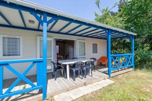 Hebergement Camping Les Alouettes : Chalet 3 Chambres