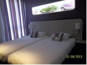 Hotel ibis Styles Montbeliard : Chambre Standard avec 2 Lits Simples