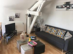 Appartement Au loft de Verdun : photos des chambres