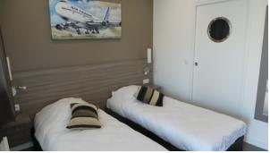 Airport-Hotel : Chambre Double