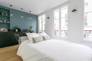 Appartement Architect-Design Flat St Germain/Luxembourg : photos des chambres