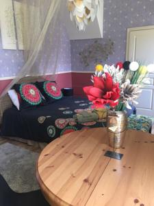 Chambres d'hotes/B&B Le Chalet Samsara : Chambre Double Deluxe avec Lit d'Appoint