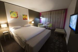 Hotel Ibis Styles Annemasse Geneve-Breakfast Included : Chambre Double Standard