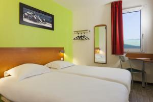 Enzo Hotel Chalons : Chambre Lits Jumeaux