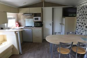 Hebergement Camping du Chateau Vert : Mobile Home