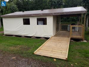 Hebergement Camping les Mancellieres : Cottage 2 Chambres