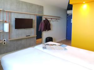 Hotel ibis budget Amiens Centre Gare : Chambre Lits Jumeaux