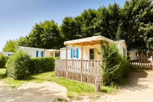 Hebergement Camping La Grand'Metairie : Mobile Home 2 Chambres Confort (4/6 Personnes)