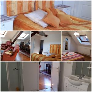 Chambres d'hotes/B&B Sci du Muhlbach : Chambre Deluxe (2 Adultes + 1 Enfant)
