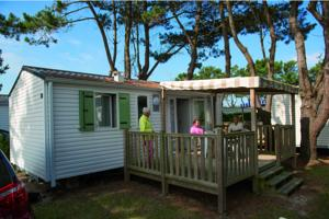 Hebergement Camping L'Ocean : Mobile Home Authentique (4-5 Personnes)