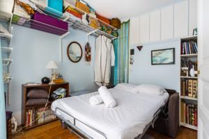 Appartement Cool flat for 3 near Buttes-Chaumont : photos des chambres