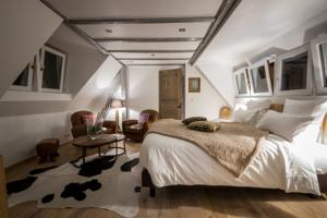 Chambres d'hotes/B&B Auberge au Boeuf : Chambre Double
