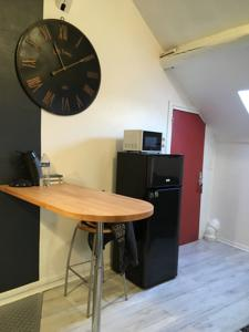 Appartement Black and white Sarcelles : photos des chambres