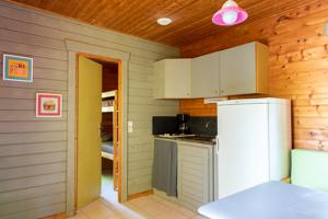 Hebergement Camping l'Evasion-Lot : Chalet 2 Chambres